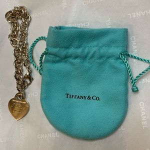 Return to Tiffany® Heart Tag Charm Bracelet